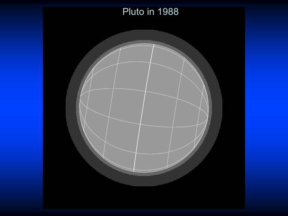 Pluto in 1988