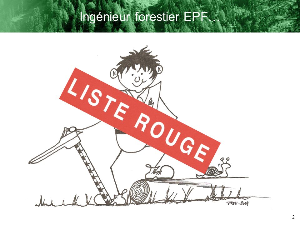 2 Ingénieur forestier EPF…