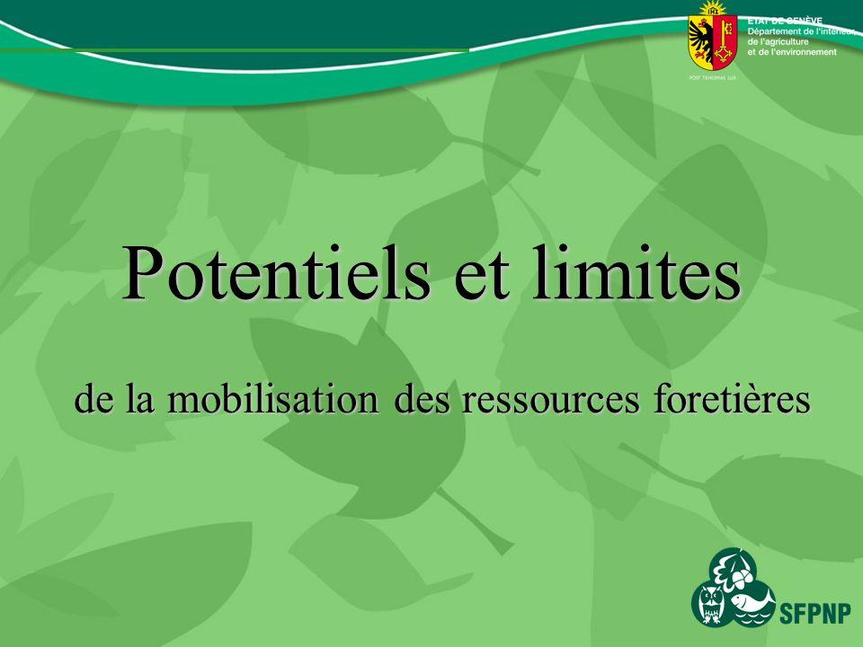 Potentiels et limites de la mobilisation des ressources foretières