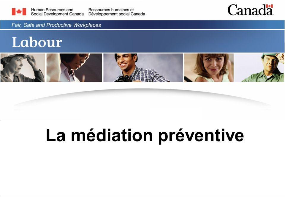 La médiation préventive