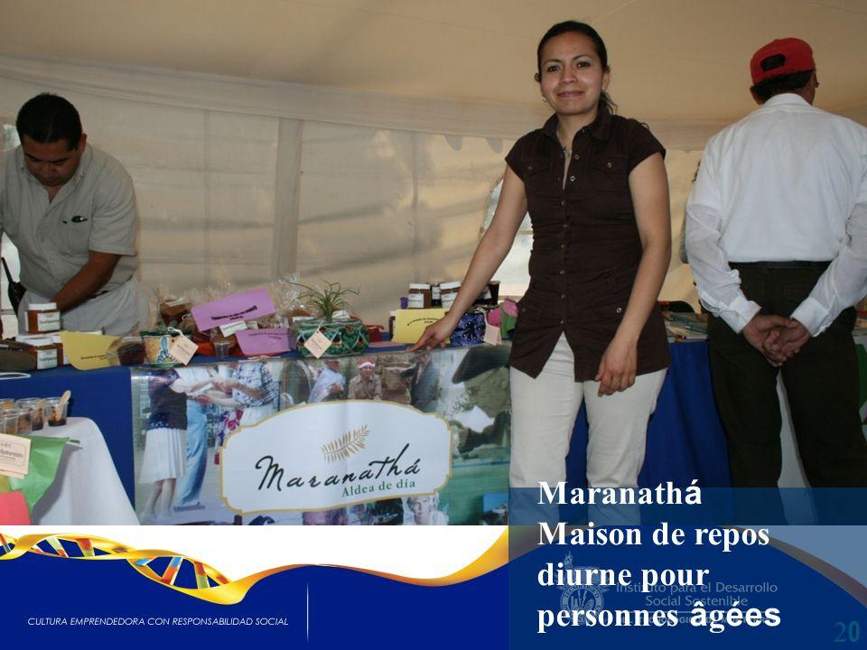 2020 Maranath á Maison de repos diurne pour personnes â g ées