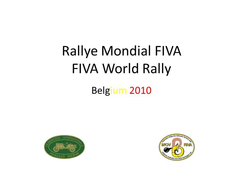 Rallye Mondial FIVA FIVA World Rally Belgium 2010