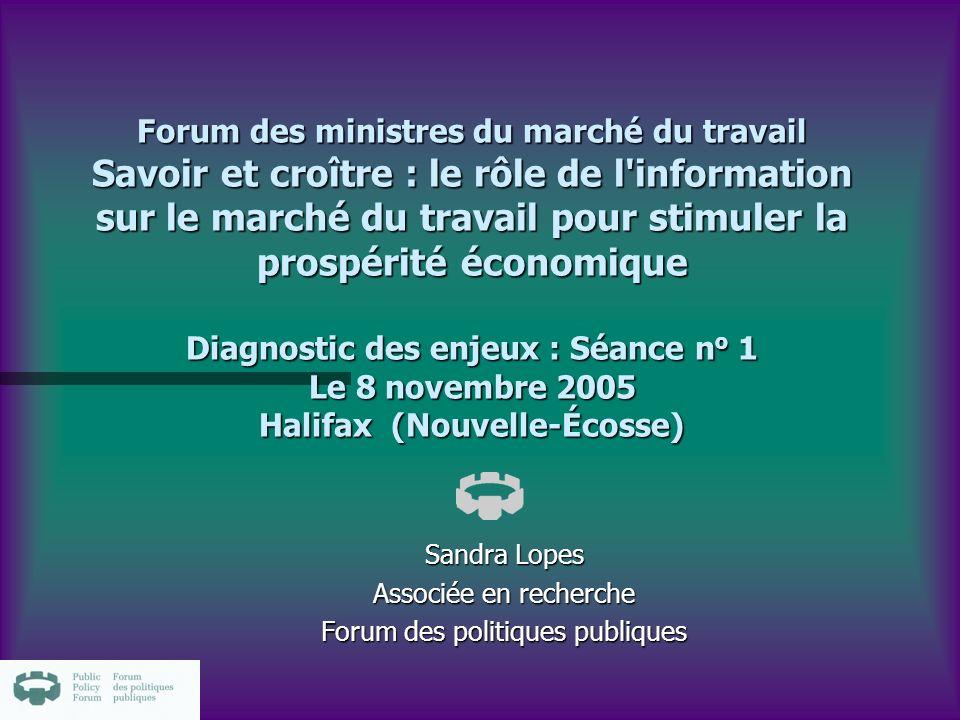 Pour les rapports de recherche n www.ppforum.ca www.ppforum.ca n Sandra.lopes@ppforum.ca