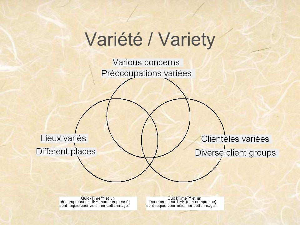 Variété / Variety