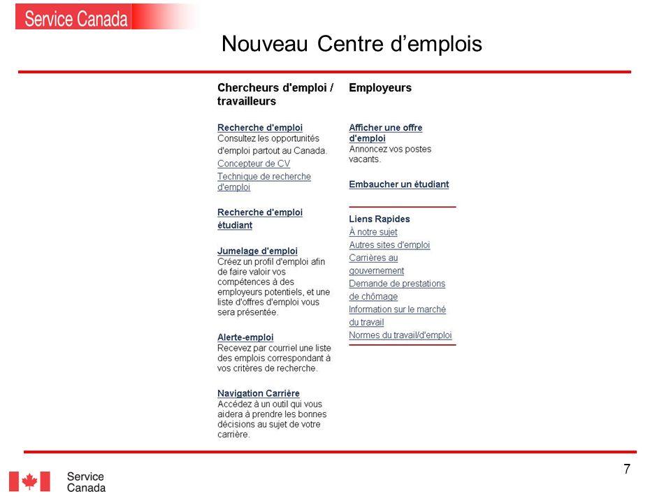 7 Nouveau Centre demplois