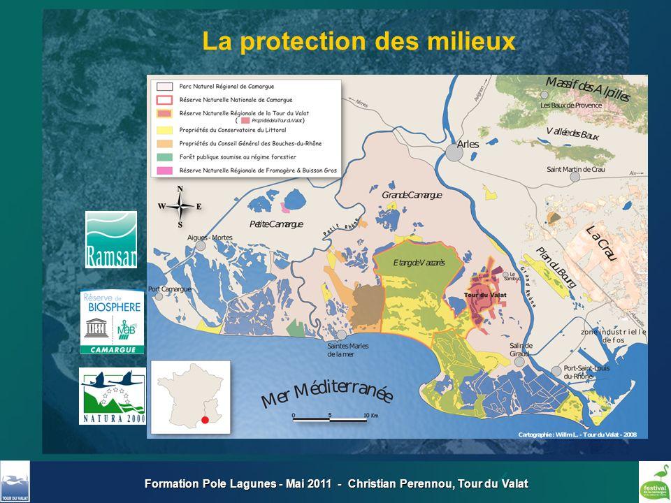 Formation Pole Lagunes - Mai 2011 - Christian Perennou, Tour du Valat La protection des milieux