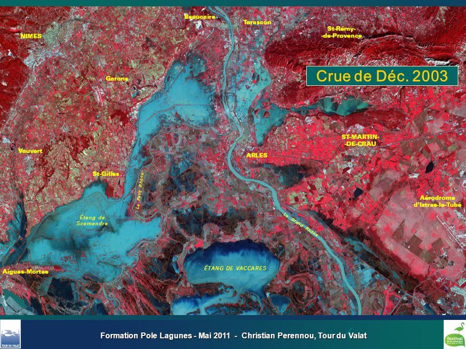 Formation Pole Lagunes - Mai 2011 - Christian Perennou, Tour du Valat Crue de Déc. 2003