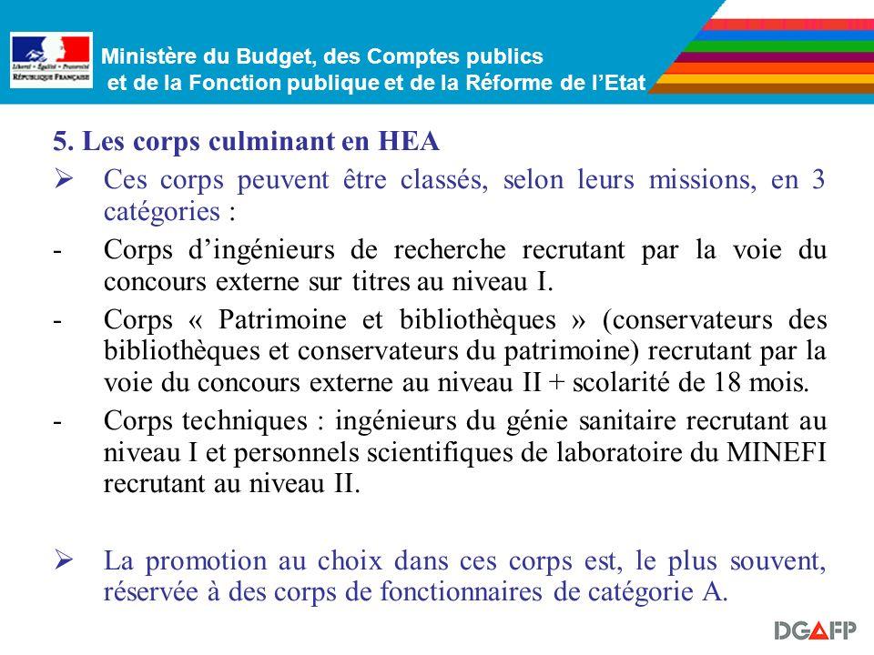 Ministère du Budget, des Comptes publics et de la Fonction publique et de la Réforme de lEtat …représentant, en proportion, un nombre limité dagents :