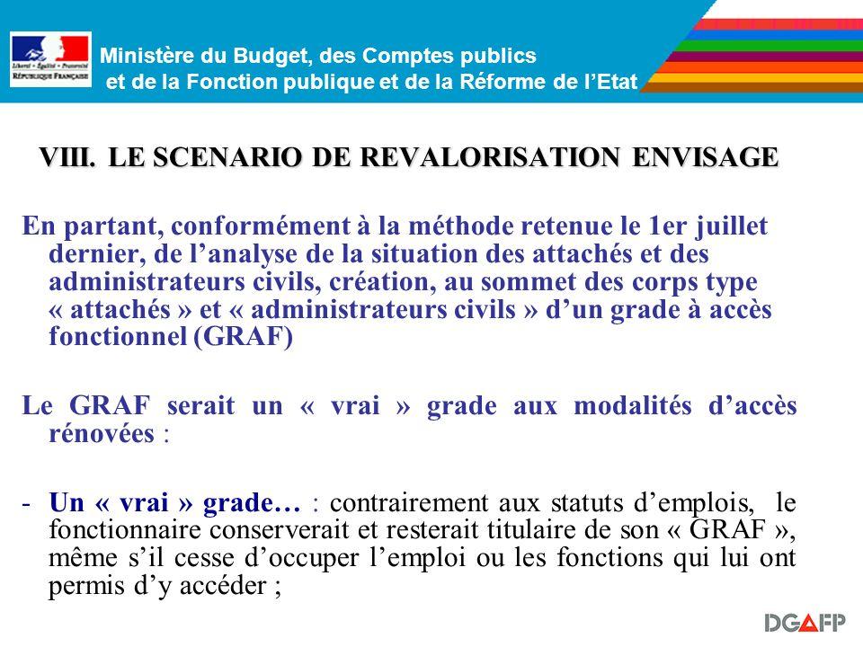 Ministère du Budget, des Comptes publics et de la Fonction publique et de la Réforme de lEtat Revalorisation des corps dont lIB culmine au plus à 780