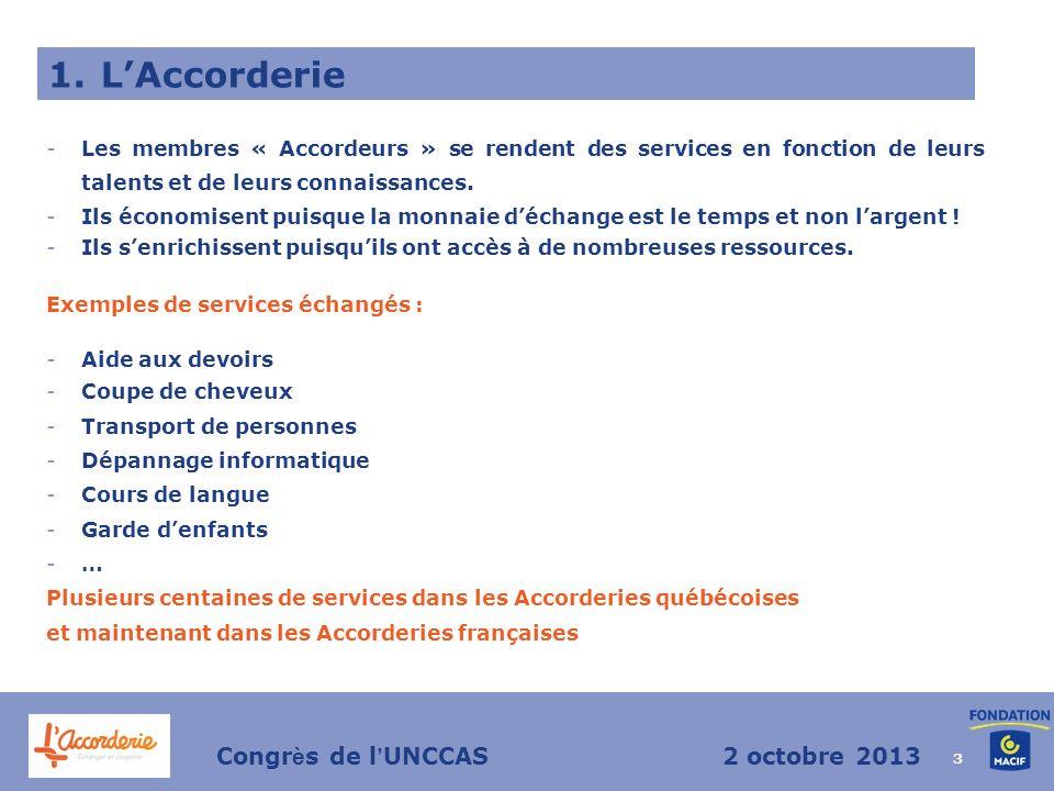 3 -Les membres « Accordeurs » se rendent des services en fonction de leurs talents et de leurs connaissances.