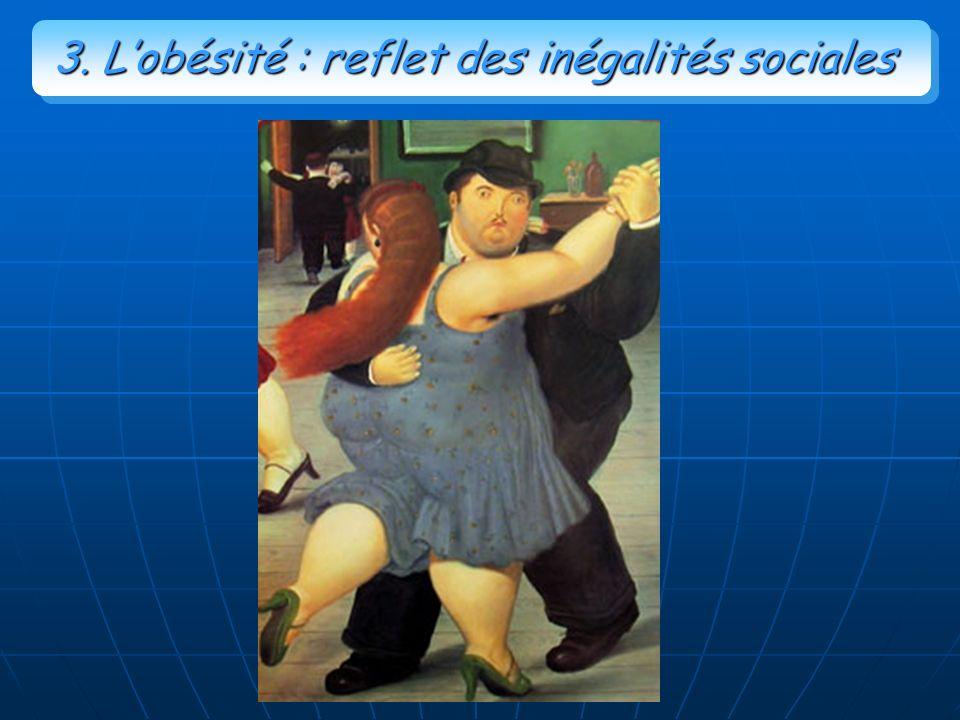 3. Lobésité : reflet des inégalités sociales