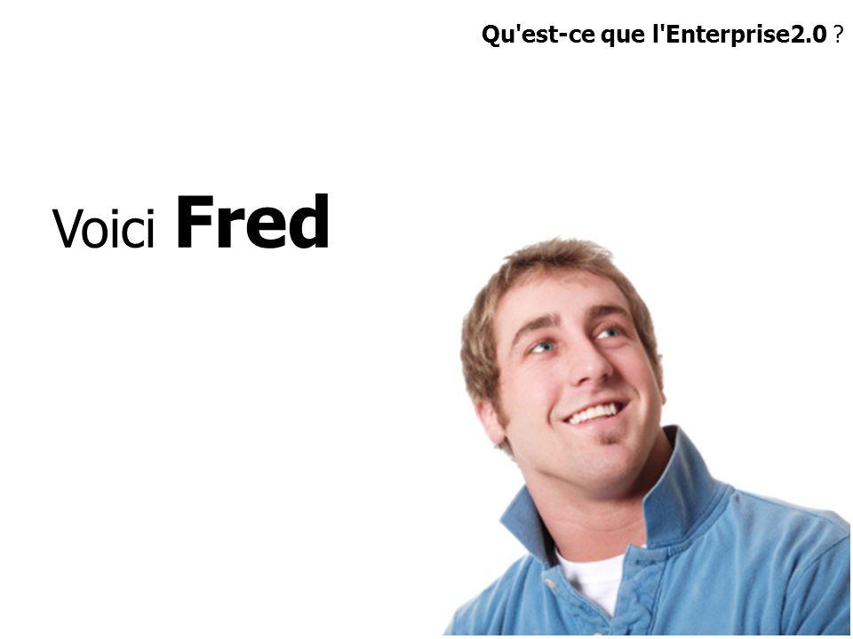 Voici Fred Qu'est-ce que l'Enterprise2.0 ?