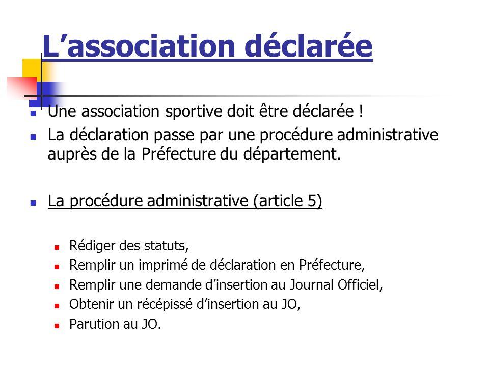 Lassociation Définition de lassociation La loi 1901 définit lassociation comme étant un contrat qui regroupe, sous la forme du projet associatif, deux