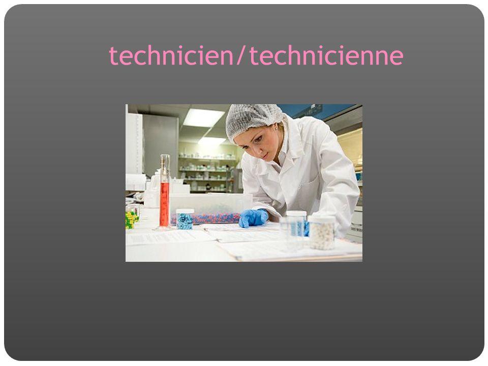 technicien/technicienne