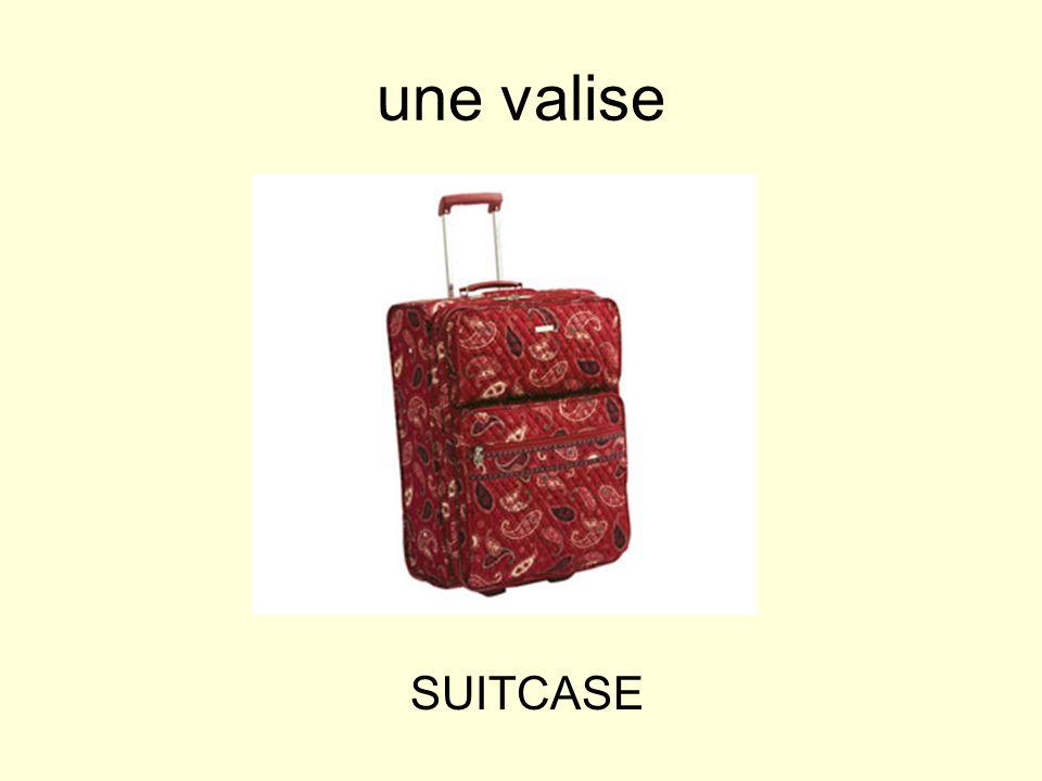 une valise SUITCASE