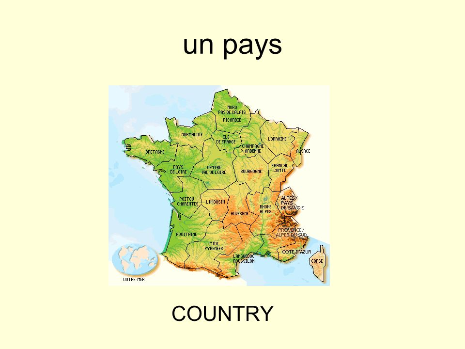 un pays COUNTRY