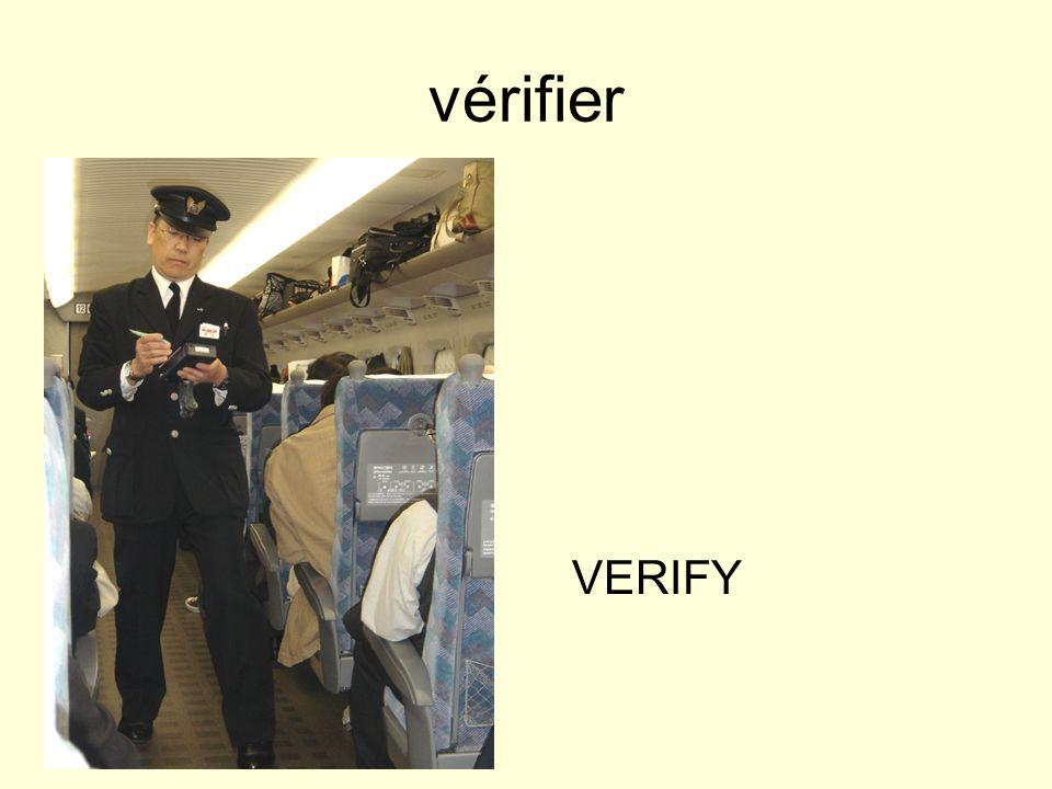 vérifier VERIFY