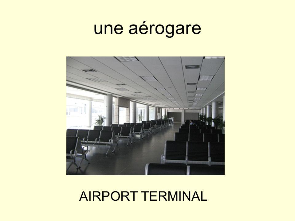 un avion AIRPLANE