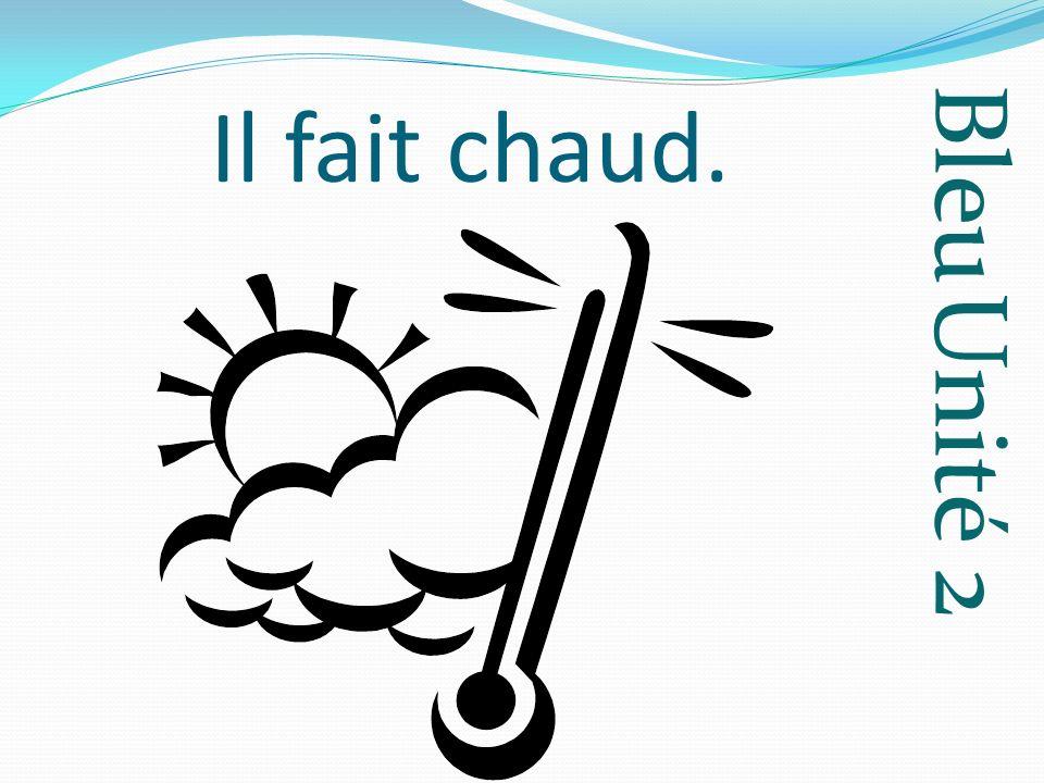 Bleu Unité 2 septembre September