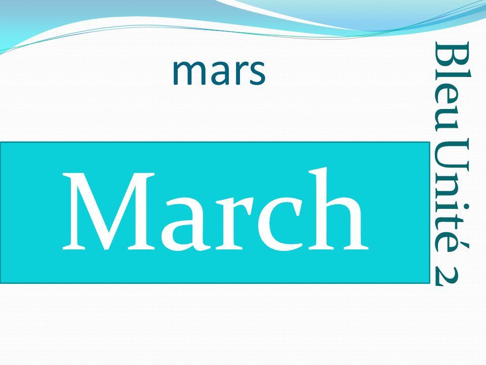 Bleu Unité 2 avril April
