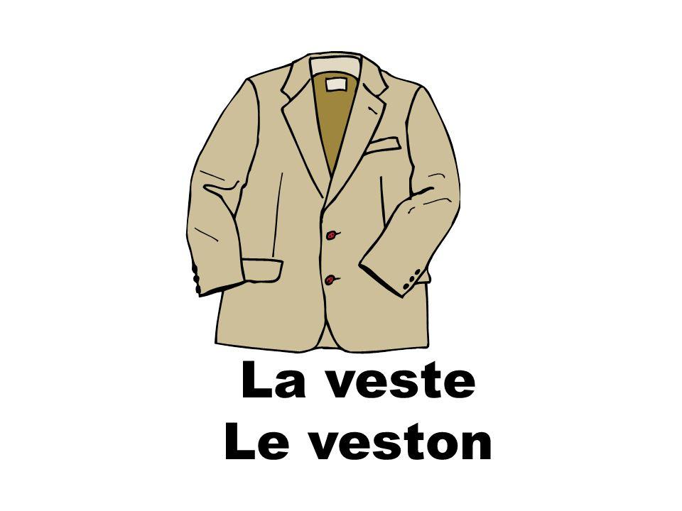 La veste Le veston