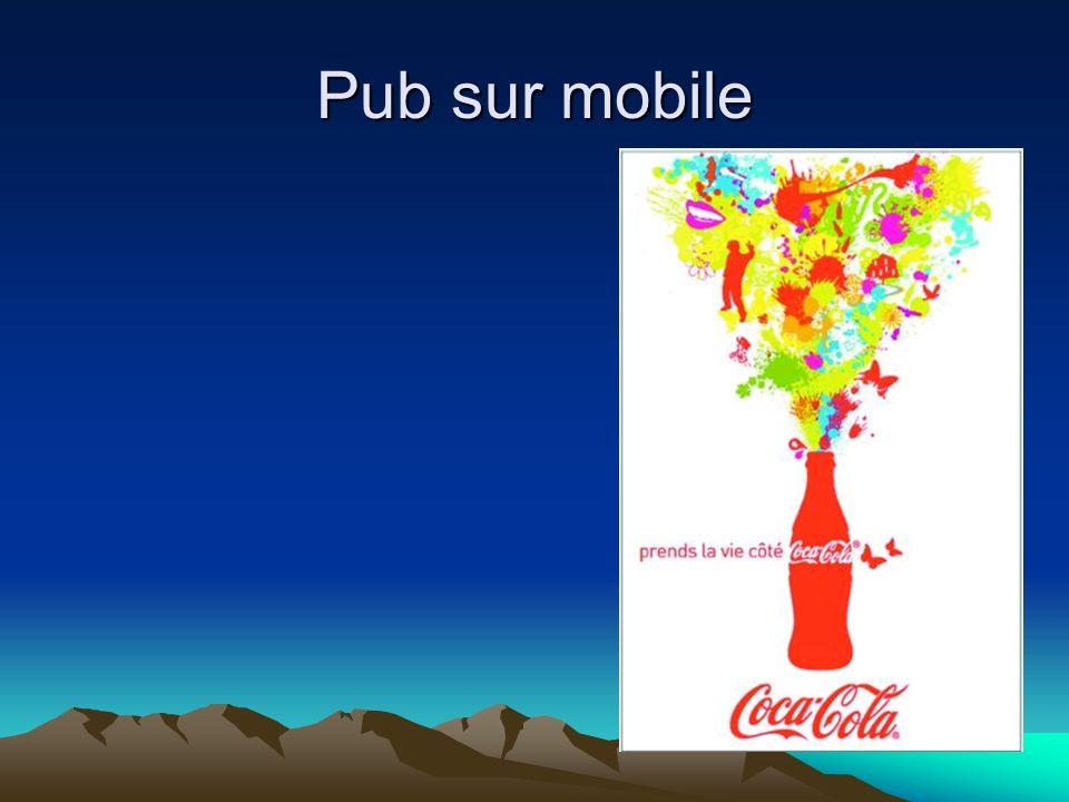 Pub sur mobile
