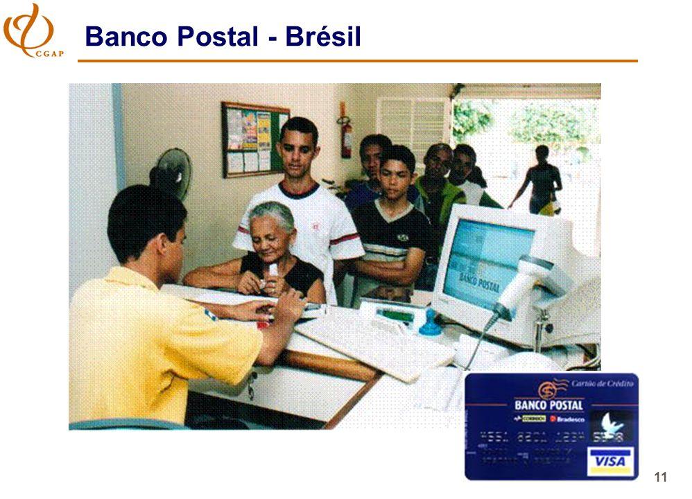 11 Banco Postal - Brésil