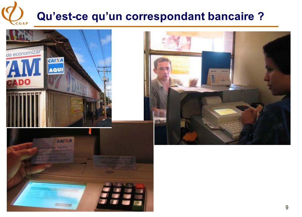 9 Quest-ce quun correspondant bancaire ?
