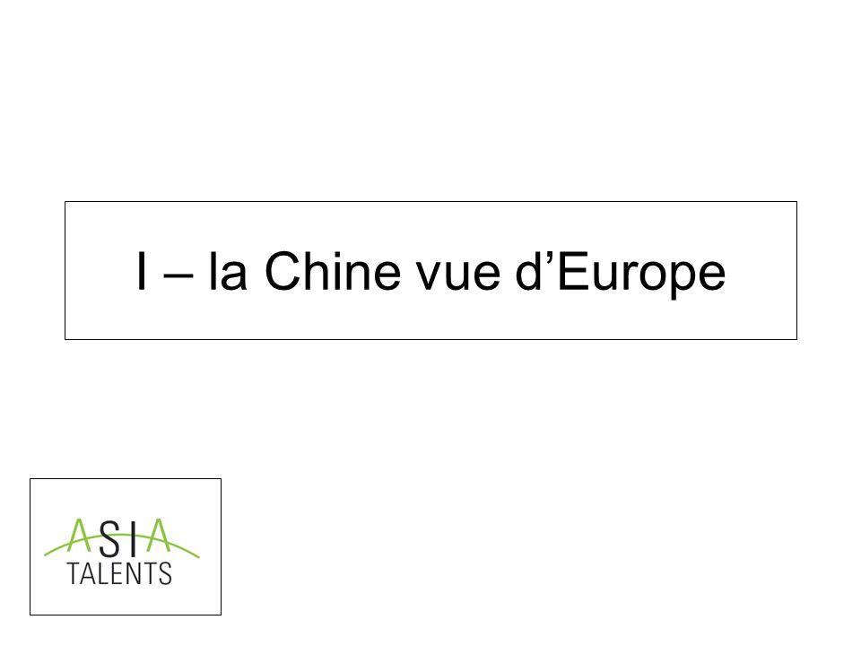 I – la Chine vue dEurope