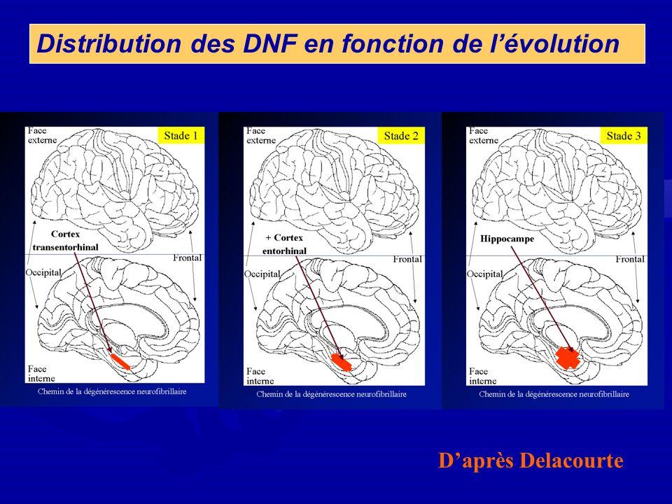 Daprès Delacourte Distribution des DNF en fonction de lévolution