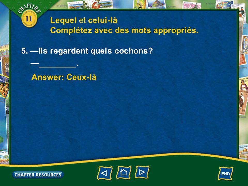 11 3.Cest ta moto . Answer: celle du Non, cest ________ facteur.