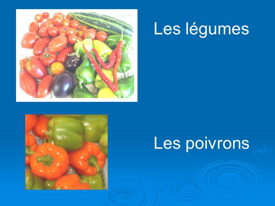Les légumes Les poivrons