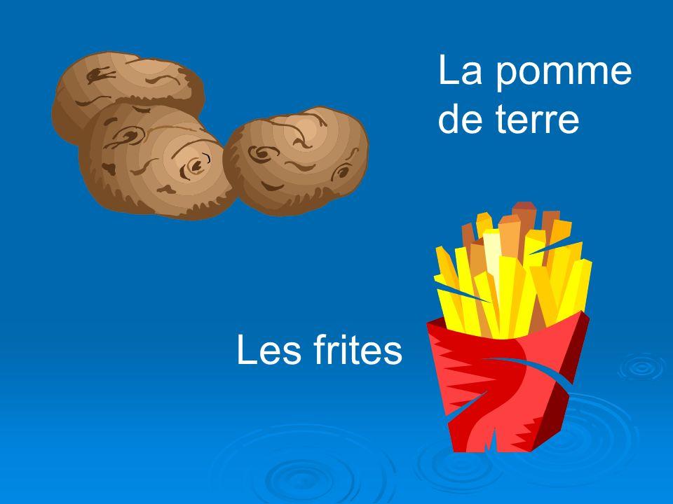 La pomme de terre Les frites
