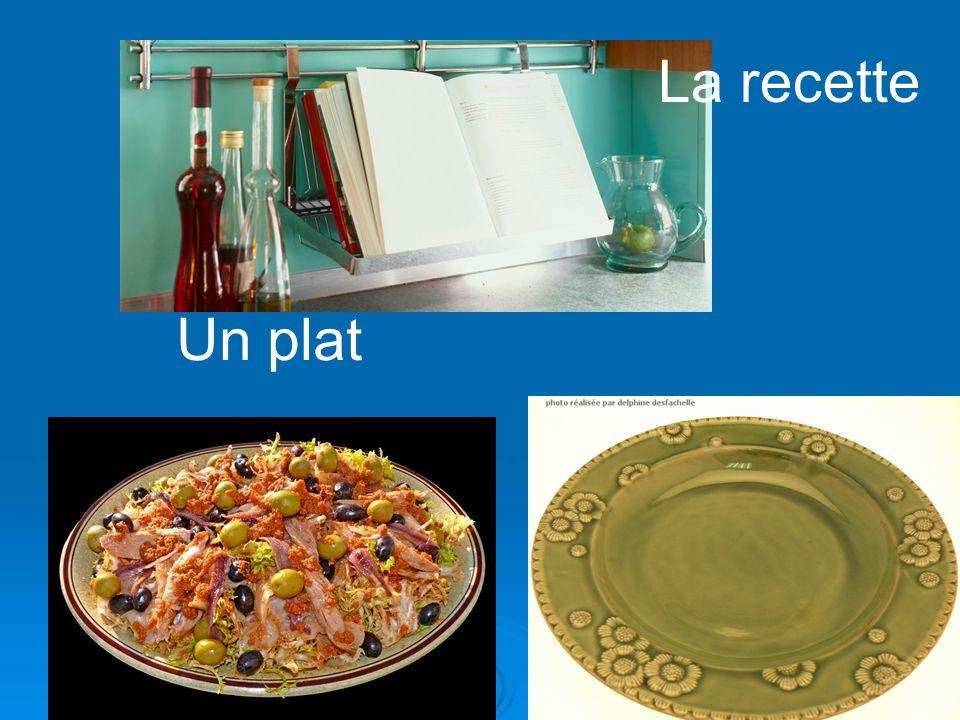 La recette Un plat