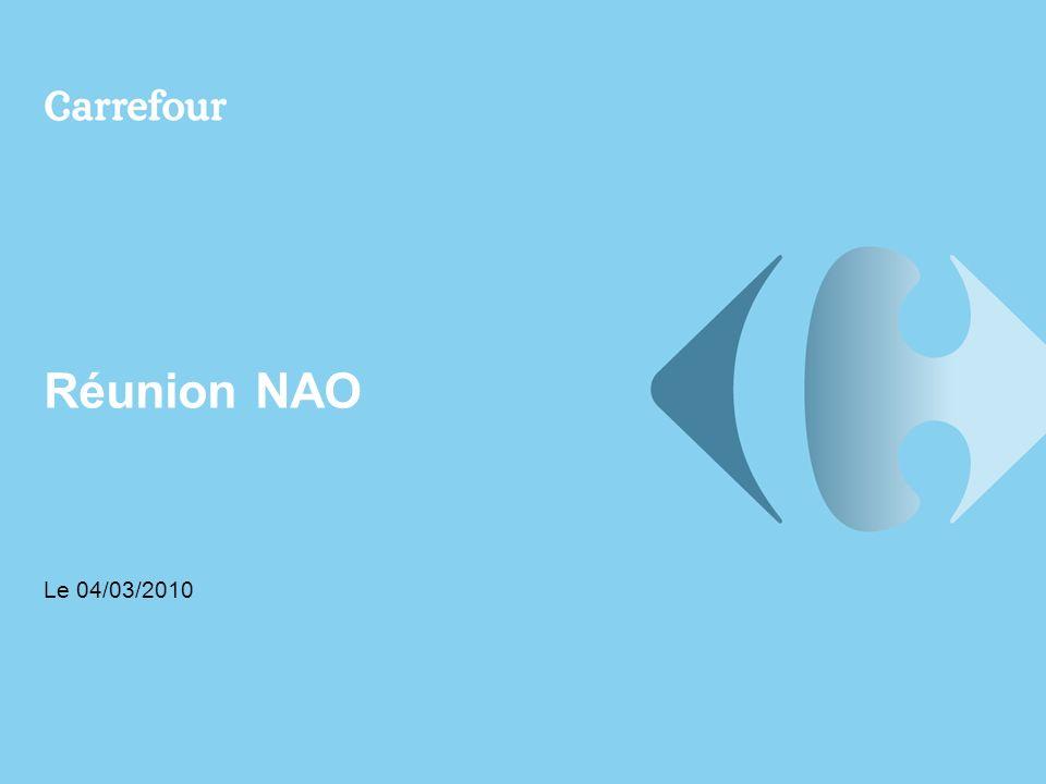 Réunion NAO Le 04/03/2010
