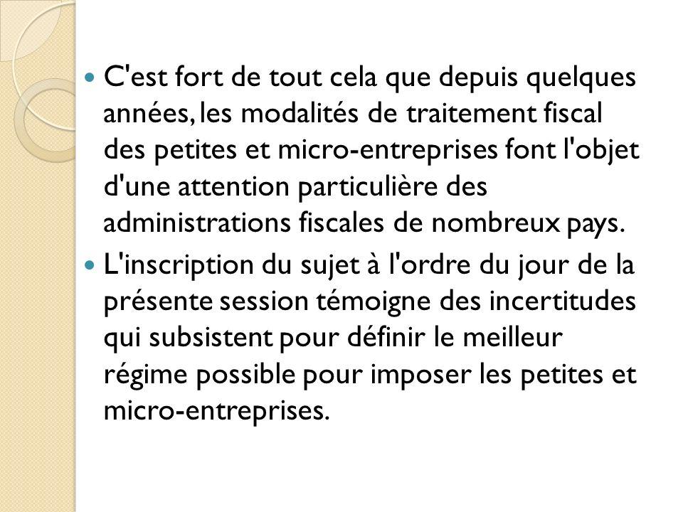 LE CAS DU BENIN En ce qui concerne la République du Bénin, elle a engagé, depuis les années 1990, un important programme de réformes fiscales, y compris l adoption d une TVA, la modernisation de l impôt sur les bénéfices, la création d une direction des grandes entreprises, et la simplification de la fiscalité des petites entreprises.