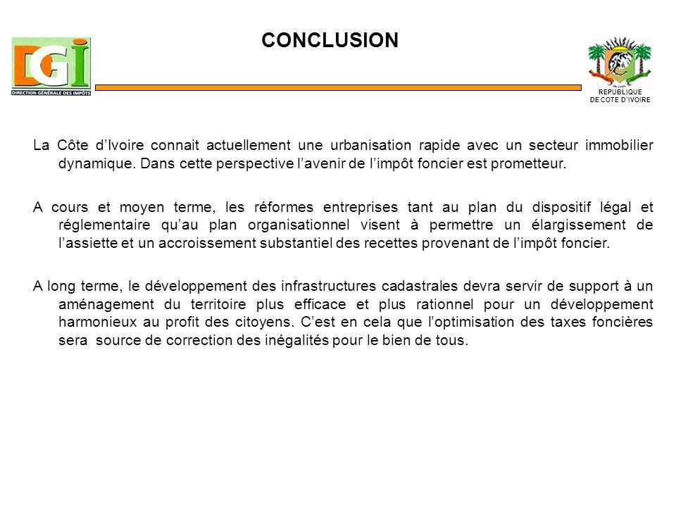 La Côte dIvoire connait actuellement une urbanisation rapide avec un secteur immobilier dynamique.