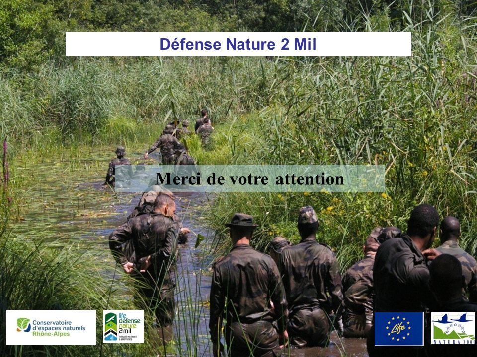Défense Nature 2 Mil Merci de votre attention