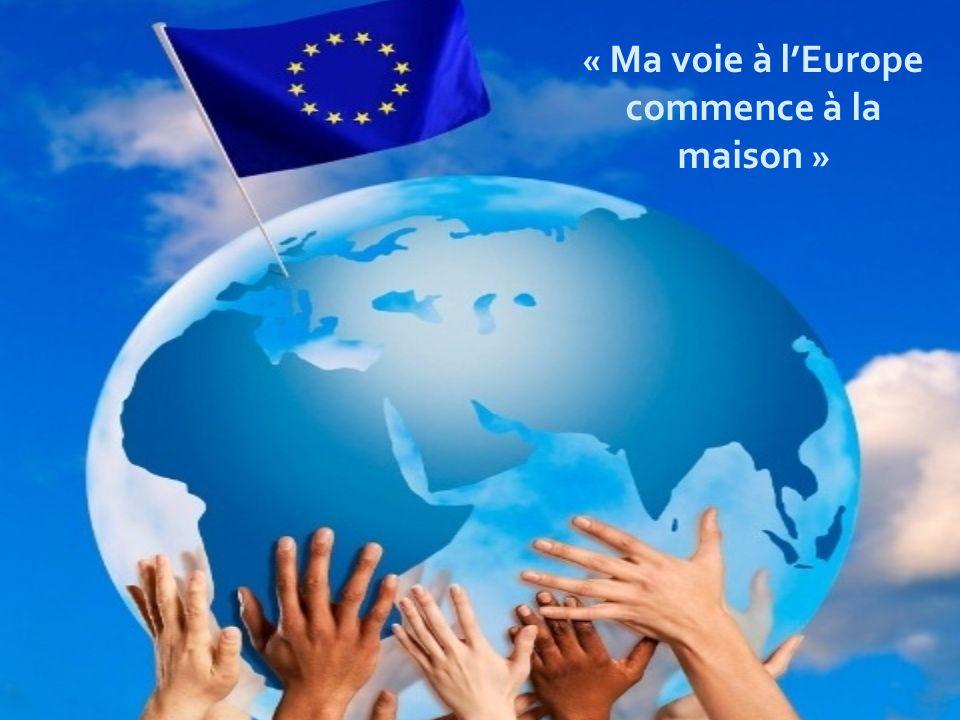« Ma voie à lEurope commence à la maison »