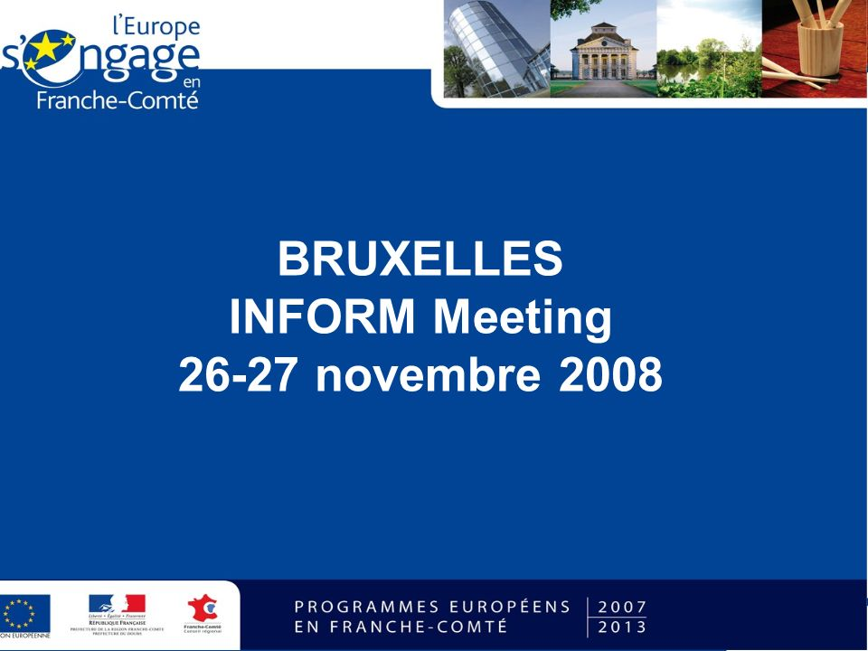 BRUXELLES INFORM Meeting 26-27 novembre 2008