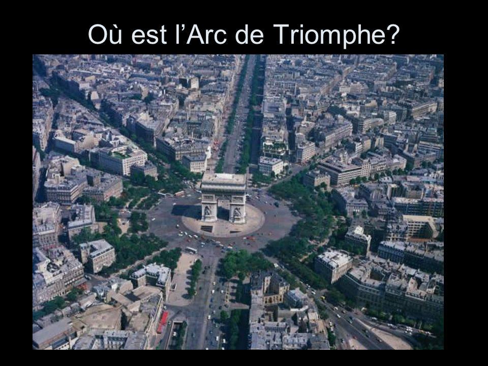Où est lArc de Triomphe
