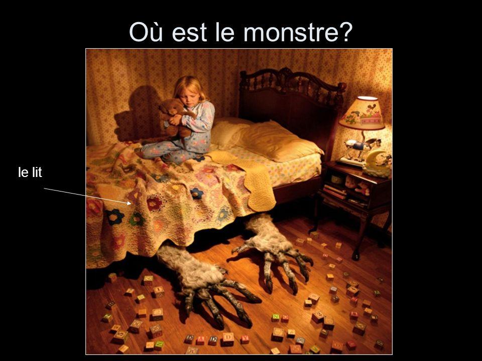 Où est le monstre le lit