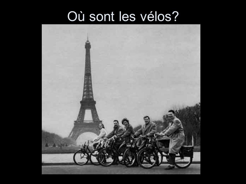 Où sont les vélos