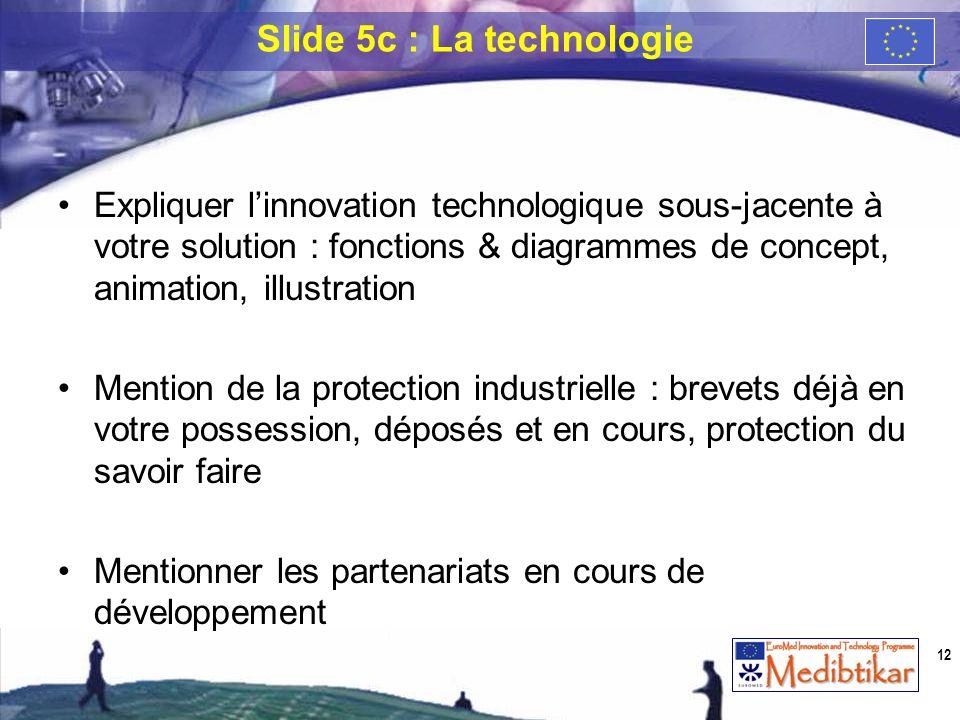 Expliquer linnovation technologique sous-jacente à votre solution : fonctions & diagrammes de concept, animation, illustration Mention de la protectio