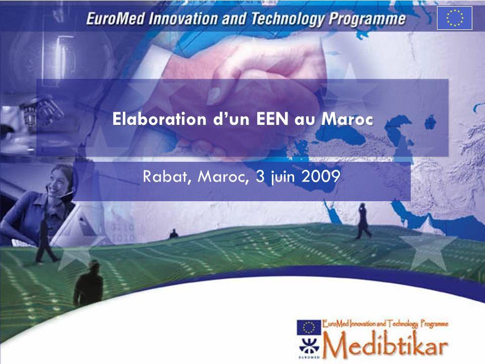 Elaboration dun EEN au Maroc Rabat, Maroc, 3 juin 2009
