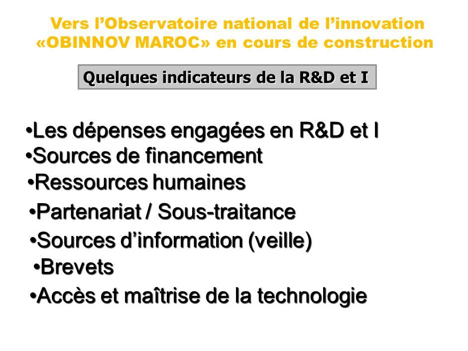 PANEL ESTIME Enq. MICMANE 2000 PANEL ESTIME Enq. R&D Maroc 2005 Modes de financement Auto- financement : 88% Crédits bancaires : 10% Autres : 2% Auto