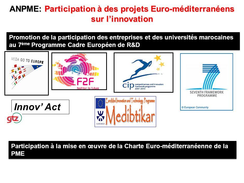 PROGRAMMES TRANSVERSAUX 1. Accès au financement 2. Accès aux marchés et Promotion des partenariats 3. Programme defficacité énergétique. 4. Programme