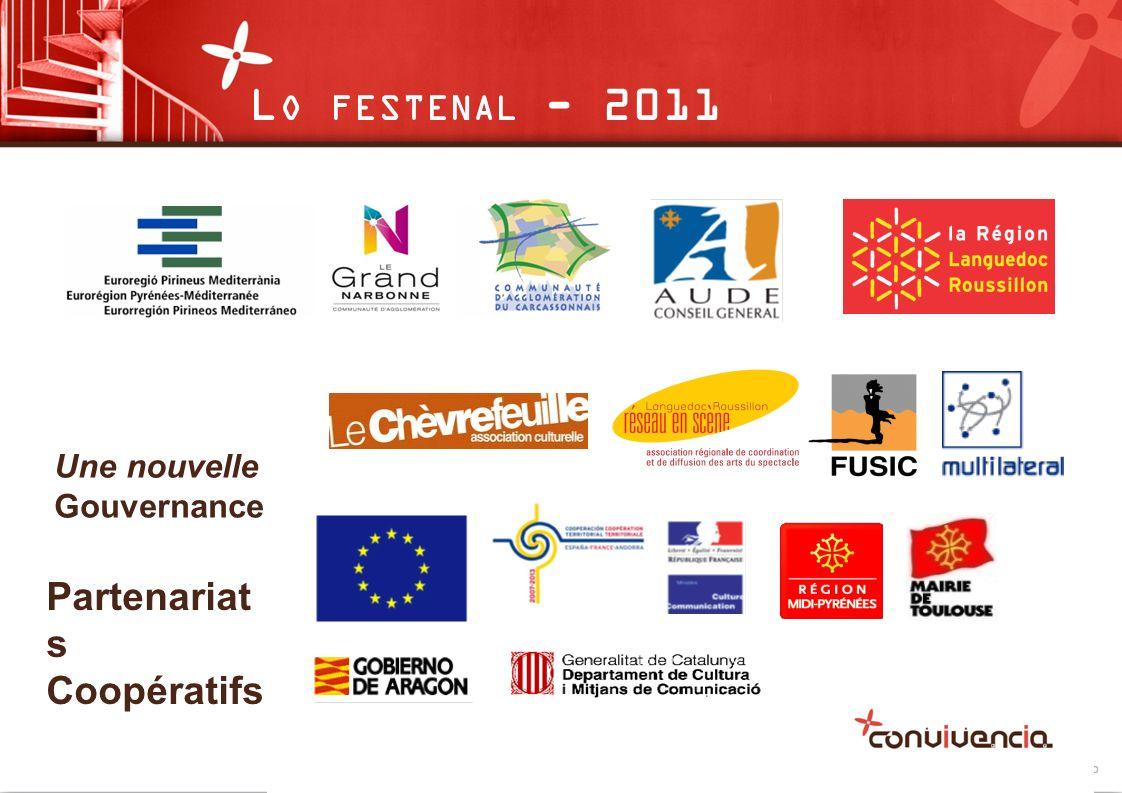 Une nouvelle Gouvernance Partenariat s Coopératifs L O FESTENAL - 2011