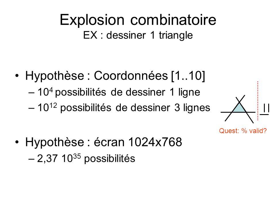 Les séquences dexécution for (int i=0; i<n; ++i) { if (a.get(i) ==b.get(i)) x[i] = x[i] + 100; else x[i] = x[i] /2; }