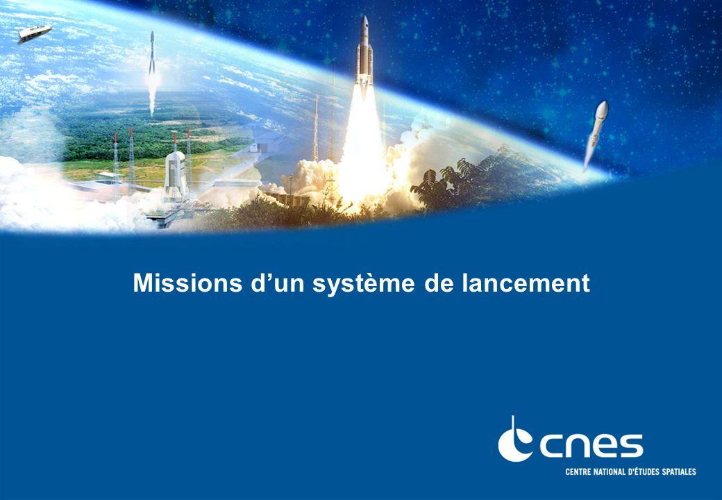 Missions dun système de lancement
